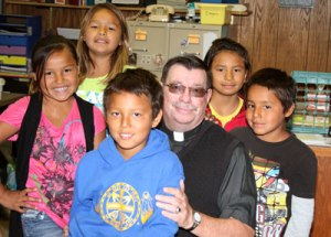Fr. Anthony is the Chaplain at St. Joseph's Indian School