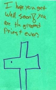 Get well cards for Fr. Steve