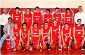 Chamberlain Cubs boys basketball team.