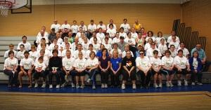 St. Joseph's Indian School's 5k walk/run, 10k bike participants.
