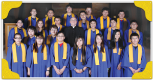 St. Joseph's Indian School's graduating class of 2012.