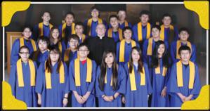 St. Joseph's Indian School's graduating class of 2012.