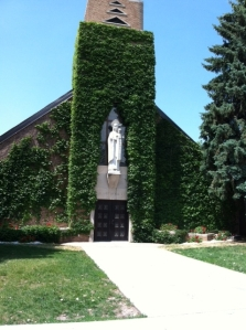 Our Lady of the Sioux Chapel at St. Joseph's Indian School.