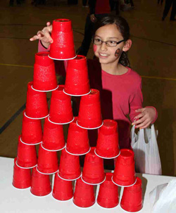 St. Joseph's annual Sobriety Carnival includes all sorts of fun games for the Lakota children!