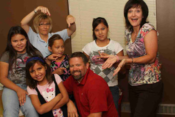 . Joseph's Health Center team takes great care of the Lakota boys and girls!