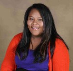 St. Joseph's eighth grader Melvina learned about writing poetry