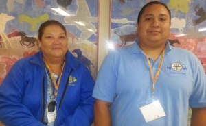 1)Two of St. Joseph's newest teachers are Native American.