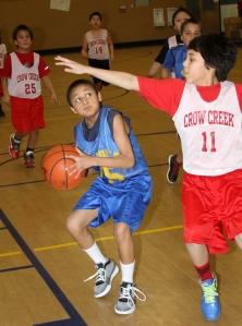 St. Joseph's boys basketball season is in full swing.