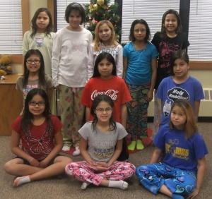 The girls in St. Joseph's William Home walked over 1,000 miles to meet their fitness goal!