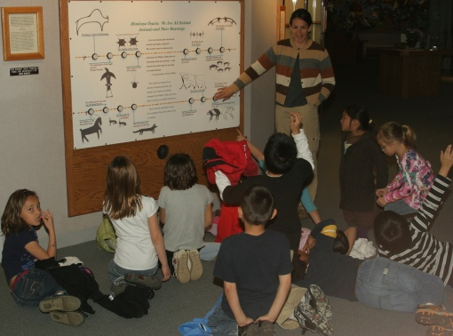 The Akta Lakota Museum & Cultural Center is open to the public and is also a great learning tool for the Lakota children at St. Joseph's Indian School!