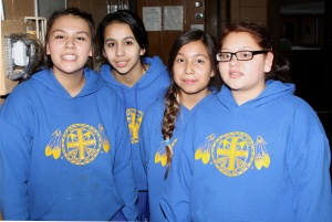 To show generosity to others, the girls spent a Saturday serving at The Banquet.