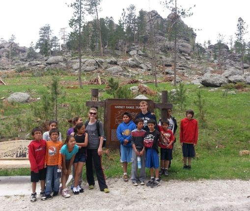 St. Joseph's summer home students and staff spent a fun weekend camping and hiking in South Dakota's Black Hills.