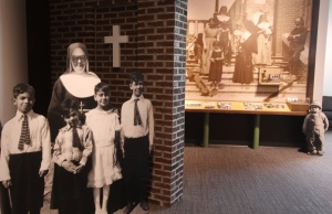 St. Joseph's Alumni & Historical Center features historical displays and special features for alumni.