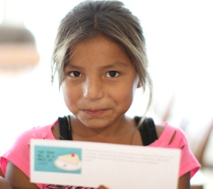The Lakota boys and girls loved the Welcome Back to School cards you sent!