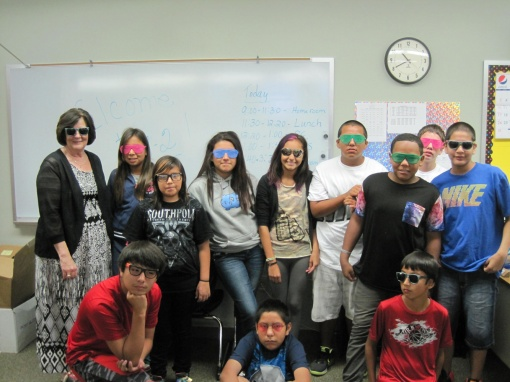 """To start the year, St. Joseph's students and teachers adopted the saying """"Our Future is so Bright, We Have to Wear Shades"""