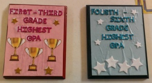 Traveling trophies will now be awarded to the class with the highest collective grade point average.