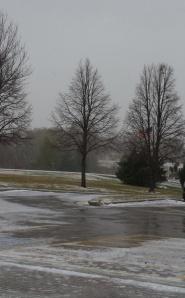 The South Dakota winter is here!