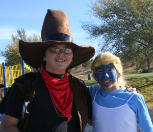 The Lakota students had a great time dressing up for Halloween!