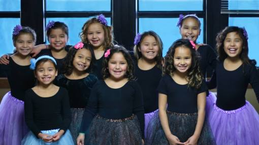 St. Joseph's students participate in many community activities in Chamberlain, including Dancing Dolls.