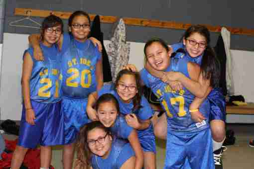 St. Joseph's girls' basketball season concluded just before Christmas break.