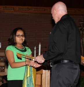 Our induction ceremony was held Friday, January 30.