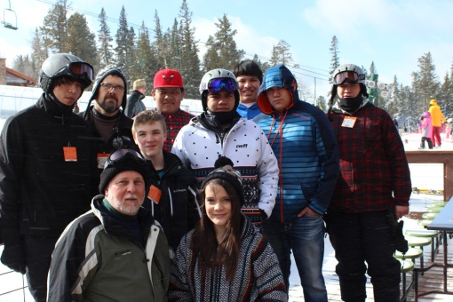 Boys in the Sheehy Home earned some extra money to go skiing on their home trip this winter.