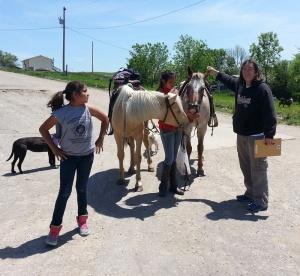 St. Joseph's bookmobile shares free books in reservation communities across South Dakota.