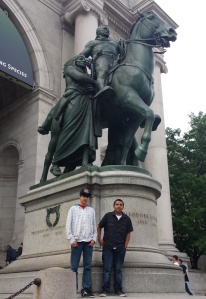 While in New York for a donor event, the Lakota students got to take in the sites.
